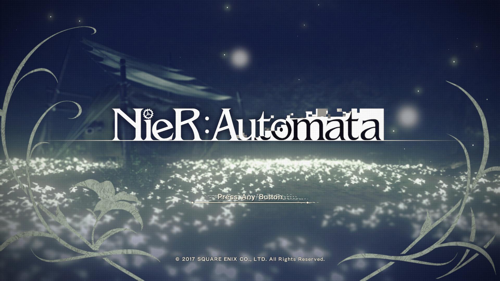 Nier Automata しばらくぶりにニーアをプレイ うずみび